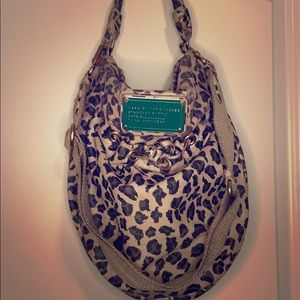 2010 Marc Jacobs leopard purse with strap